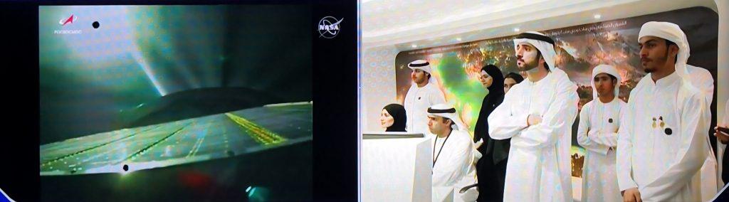 Sheikh Hamdan during launch